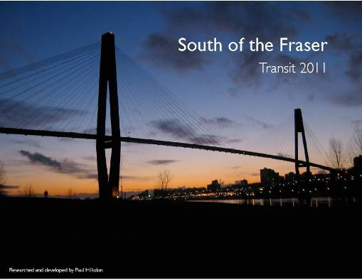 South of Fraser Transit Plan