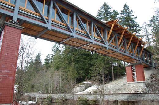 Whistler station bridge