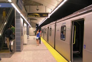 Canada Line City Centre platform