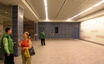 Canada Line station interior