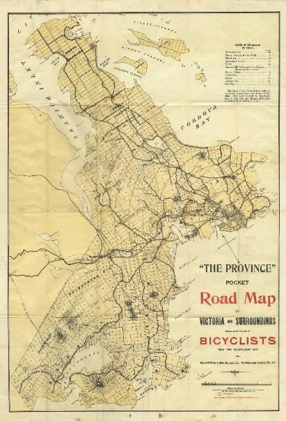 Victoria bike map 1897