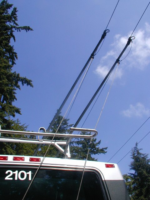 """Featured image for """"Why do trolley buses require two wires?"""""""
