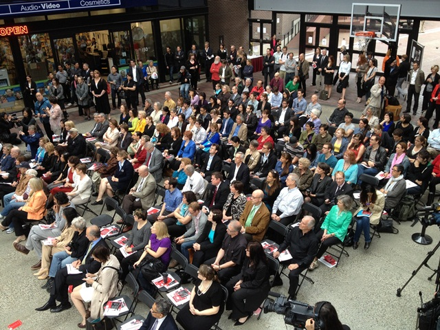 """Featured image for """"Standing room only at SFU City Conversations"""""""