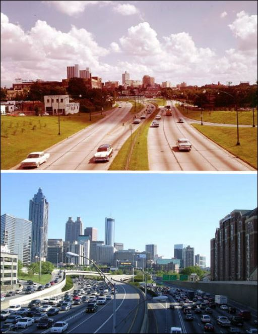 Atlanta 1964 and today