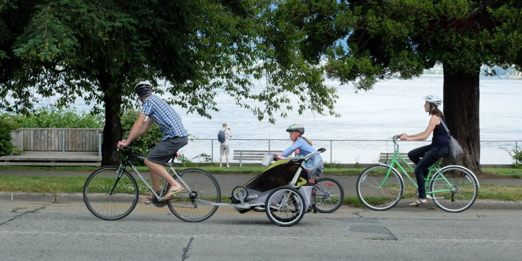 """Featured image for """"Ohrn Image: A New Breed of Rider On the New Point Grey Road"""""""