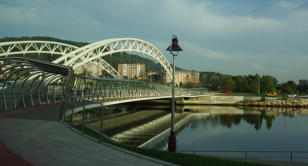 nteverdra passarelle, Galicia
