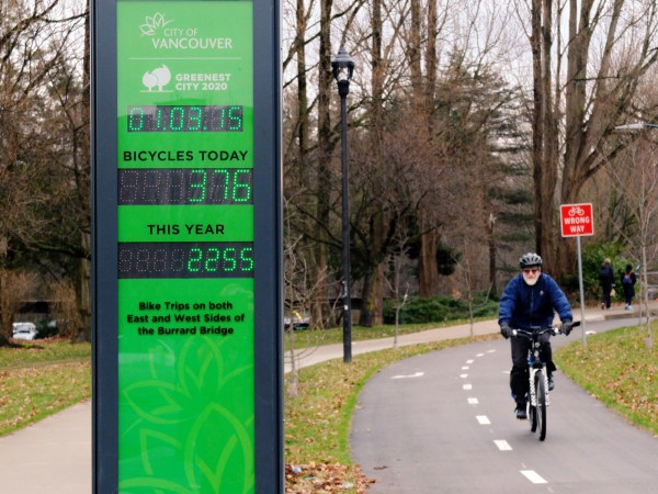 Ohrn bike counter Jan 2015