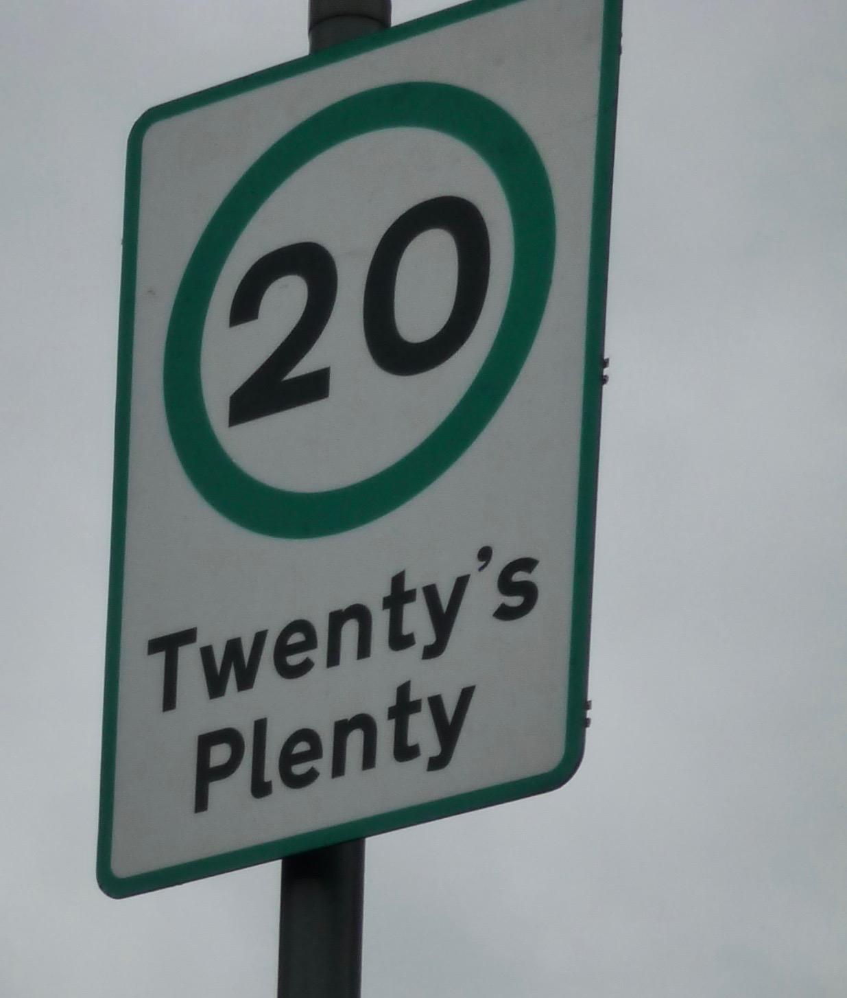Twenty is Plenty – Version 2