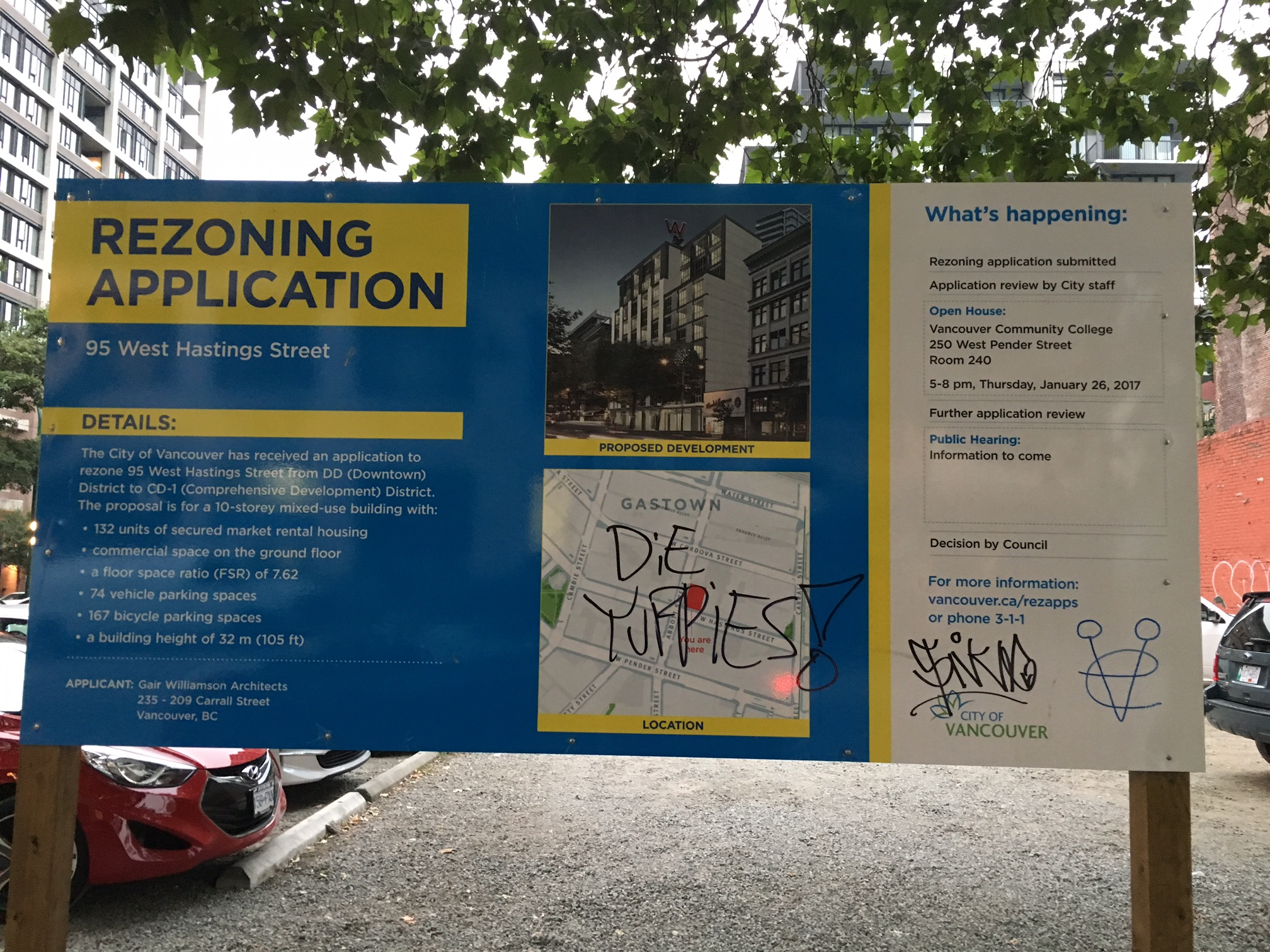 Rezoning Application - 95 West Hastings Street