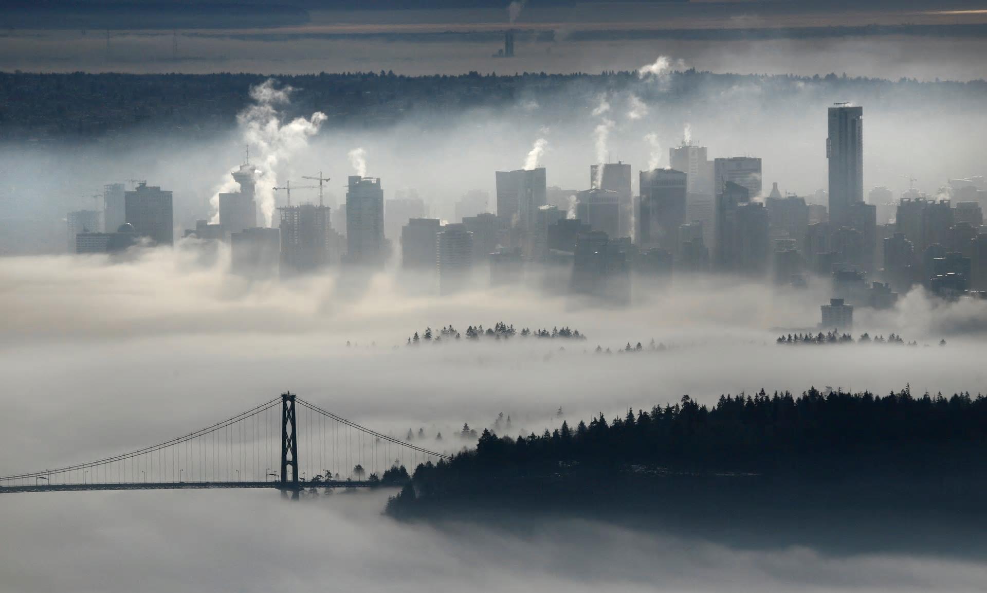 Vancouver.Fog