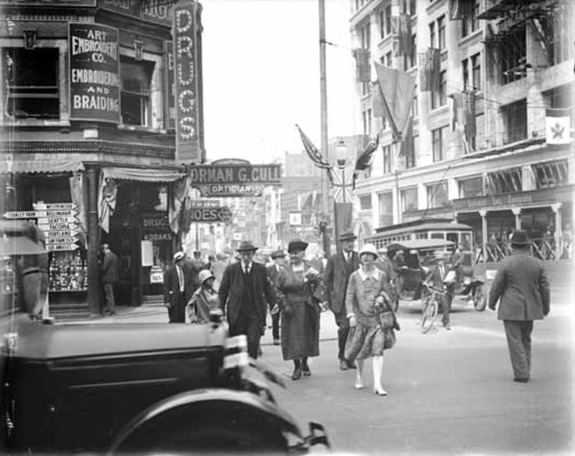 corner_of_georgia_and_granville_streets_vancouver_1928