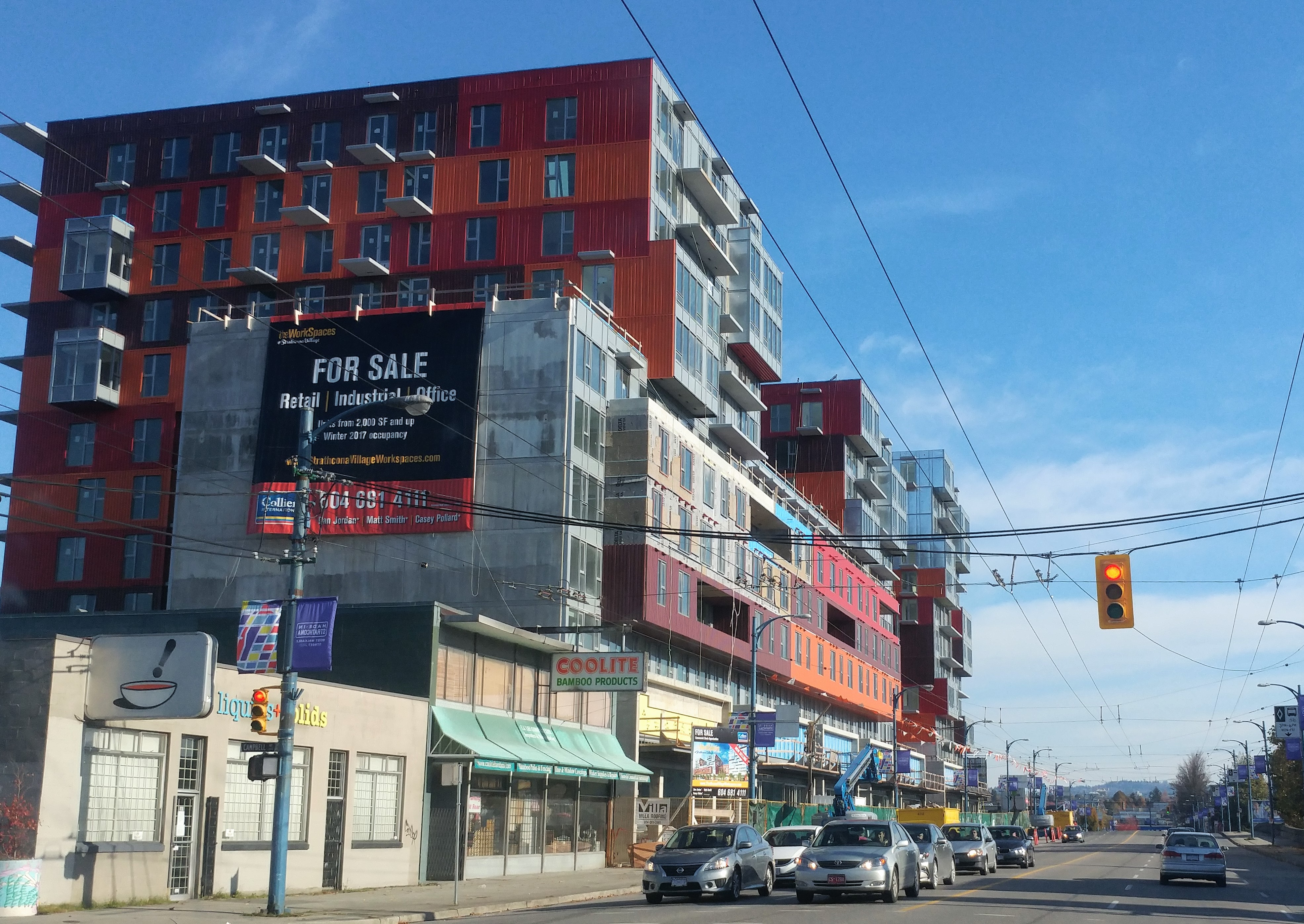 Colour and Form on East Hastings – Price Tags