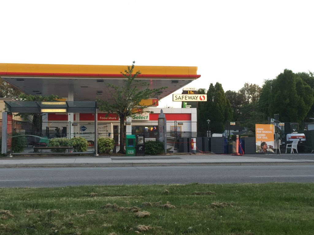 """Featured image for """"Open for Snacks. Closed for Gas. 5110 Oak Street"""""""