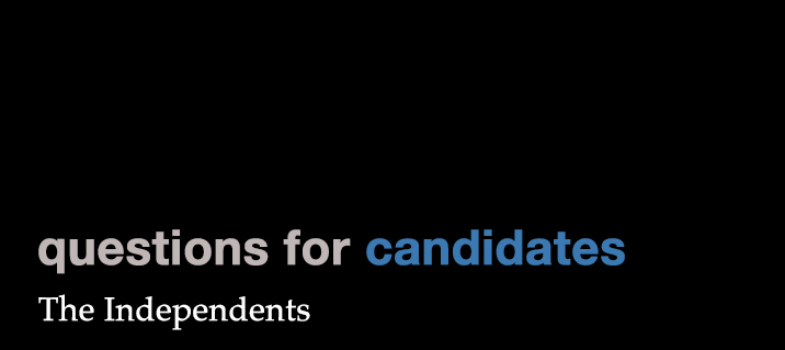 """Featured image for """"Questions for Candidates: The Independents (Part III)"""""""