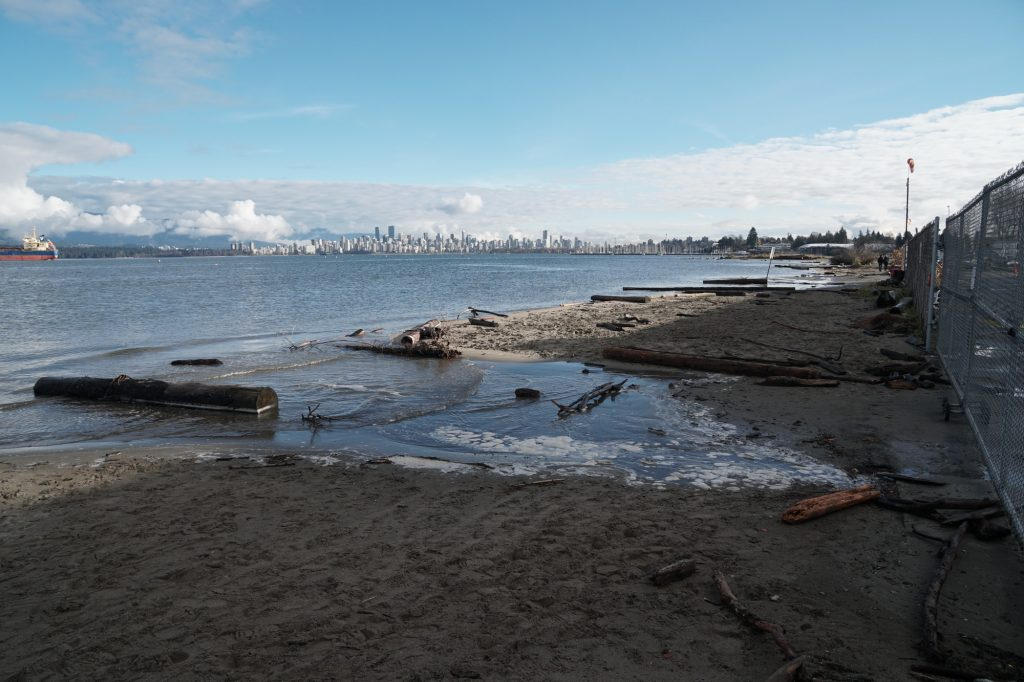 """Featured image for """"King Tide Comes To Vancouver"""""""