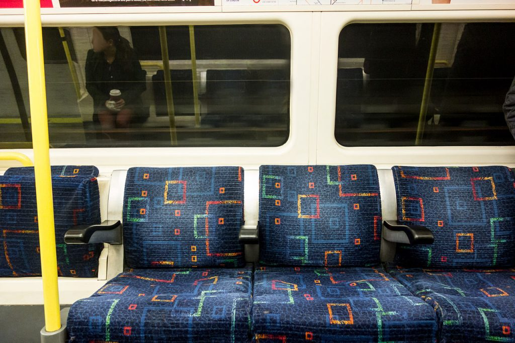 """Featured image for """"London Underground's 90 years of Interior Design"""""""