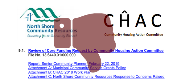 DNV Withdraws Core Funding for Affordable Housing Committee