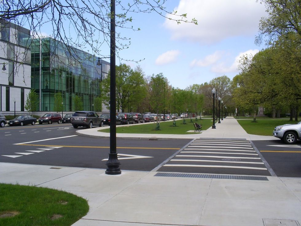 "Featured image for ""Midblock Crossings, Raised Crosswalks, and StreetsBlog's List of Best Pedestrian Practices"""