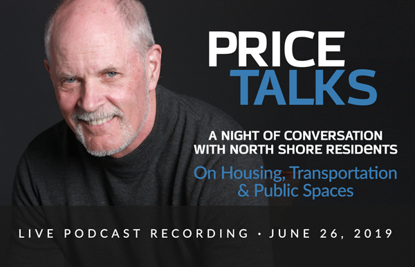"""Featured image for """"A Night on the North Shore: Live Recording of the Price Talks Podcast"""""""