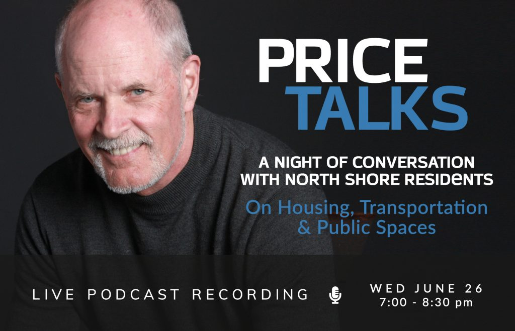 """Featured image for """"Last Call for Tickets: A Night on the North Shore with Price Talks"""""""