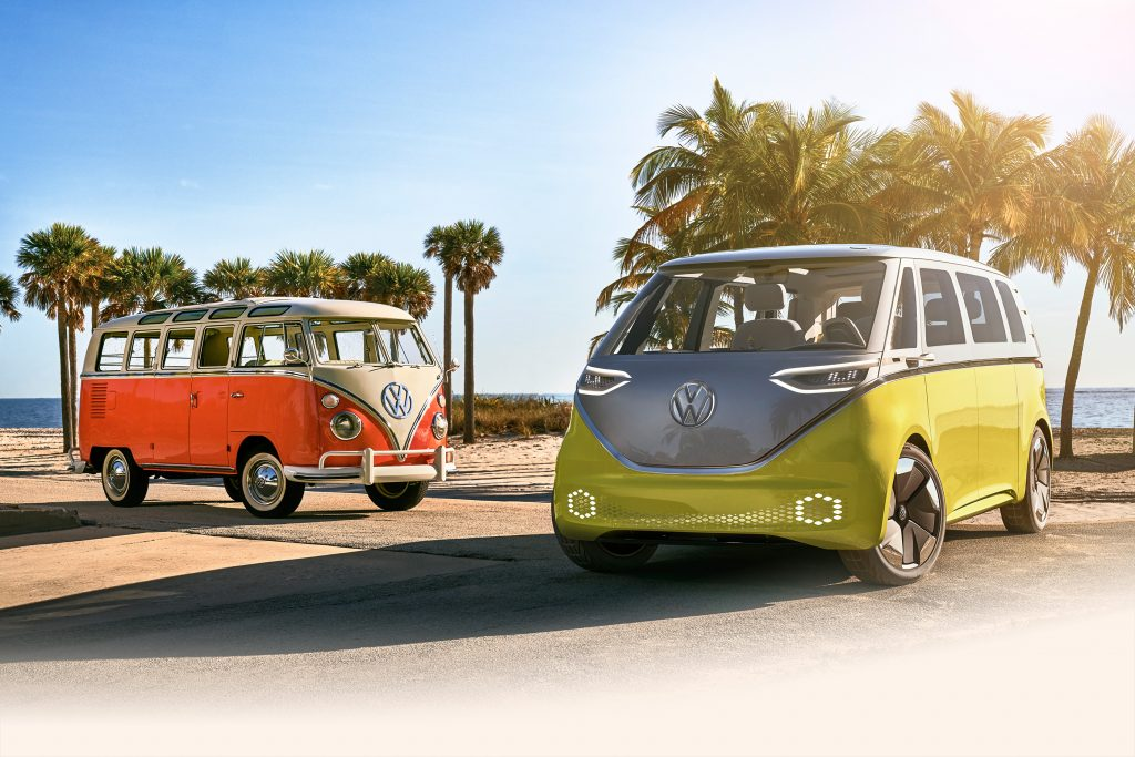 """Featured image for """"The Iconic VW Van Returns – Electrified!"""""""
