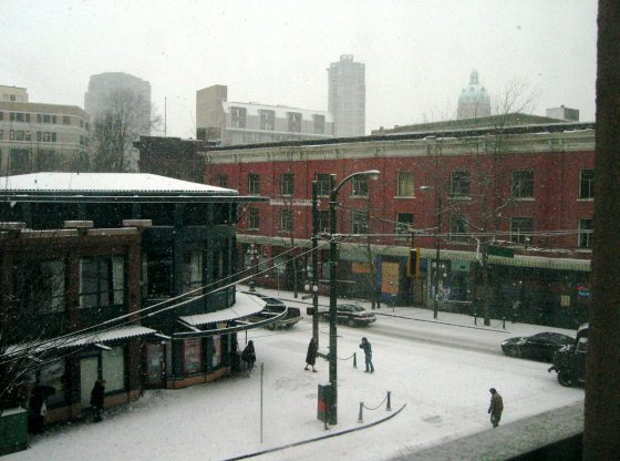 Gastown in Winter