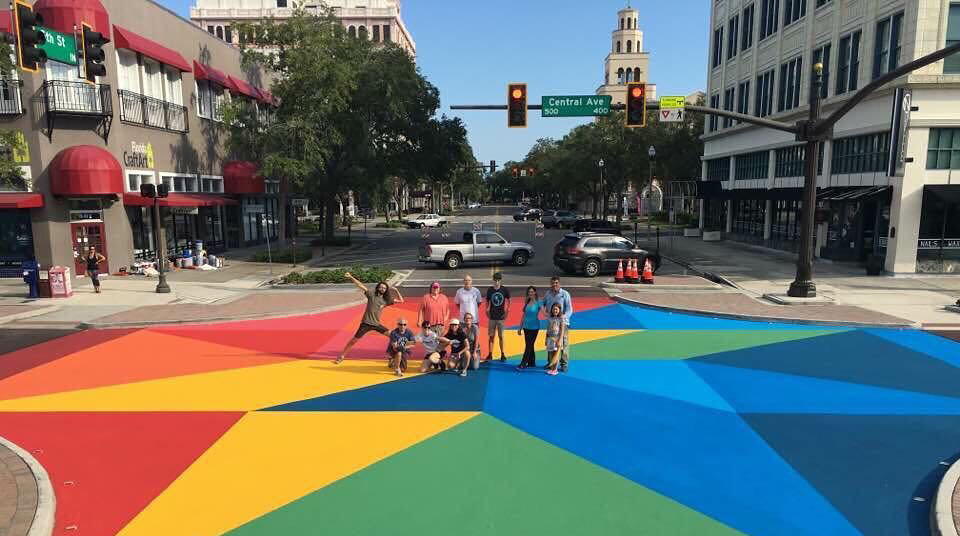 St-Pete-Painted-Intersection