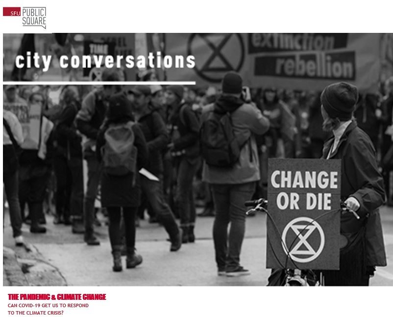 """Featured image for """"City Conversation: Covid / Climate Connection"""""""