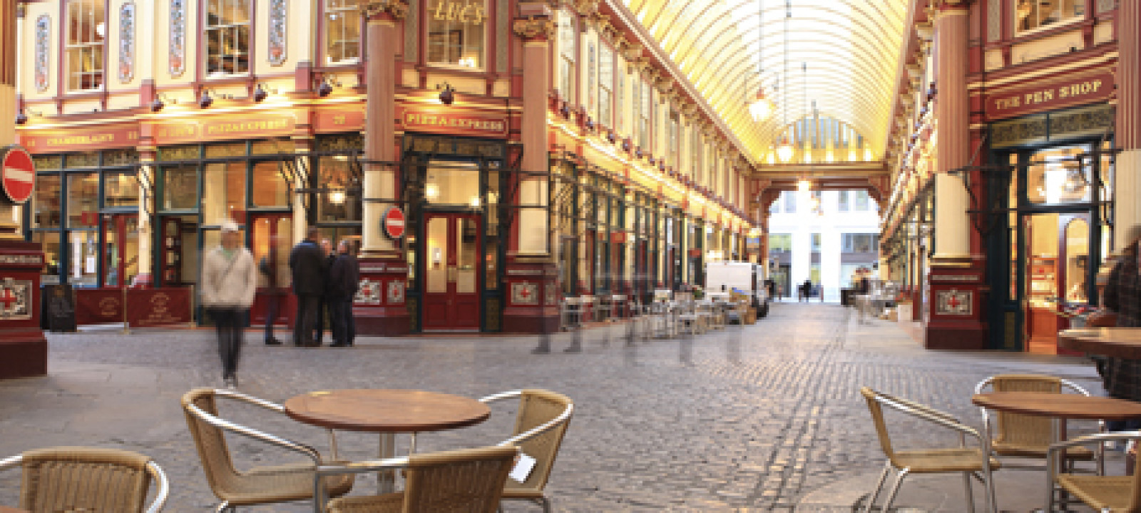 Leadenhall Market, City of London, London, England, United Kingd