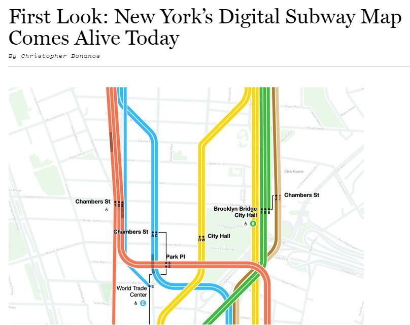 """Featured image for """"The Amazing New New York Subway Map"""""""