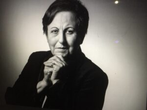 """Featured image for """"Free Webinar~Passing the Torch: Lessons Learned from Nobel Prize Winner Dr. Shirin Ebadi"""""""