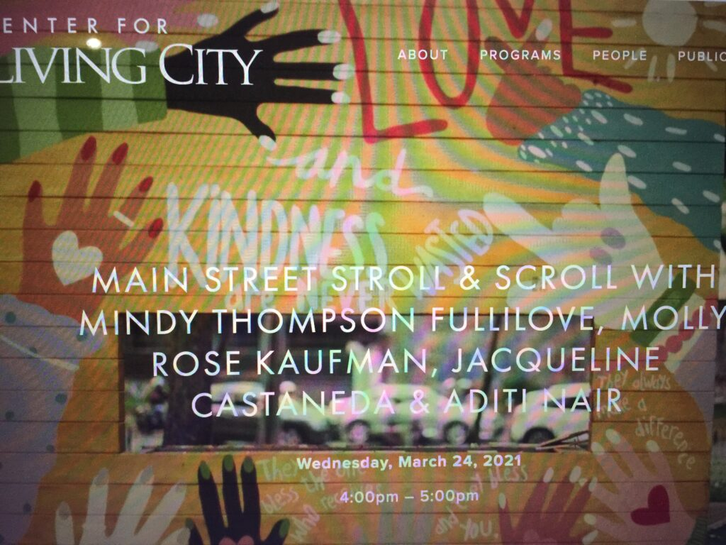 """Featured image for """"Jane Jacobs Lecture: Main Streets-What Can Post Covid Cities Be?"""""""