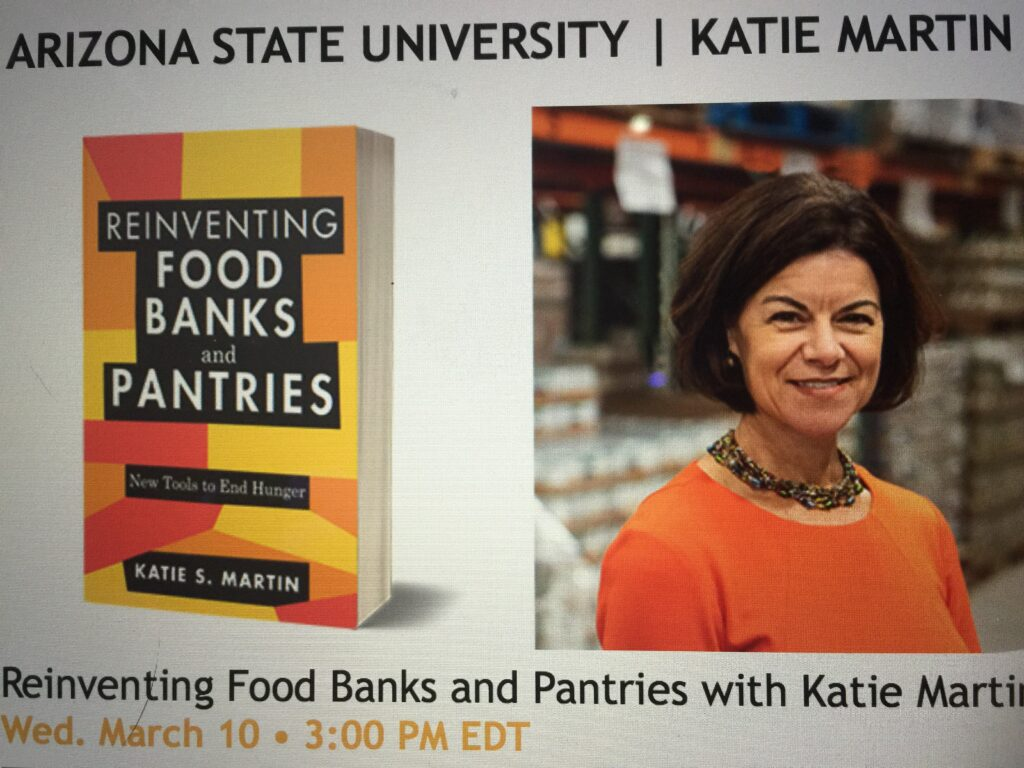 """Featured image for """"Free Webinar~How do we Reinvent Food Banks & Pantries?"""""""