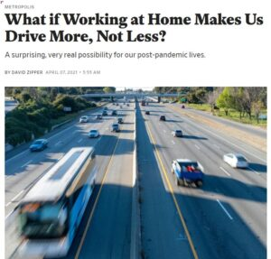 """Featured image for """"Will you drive more or less after the pandemic?"""""""
