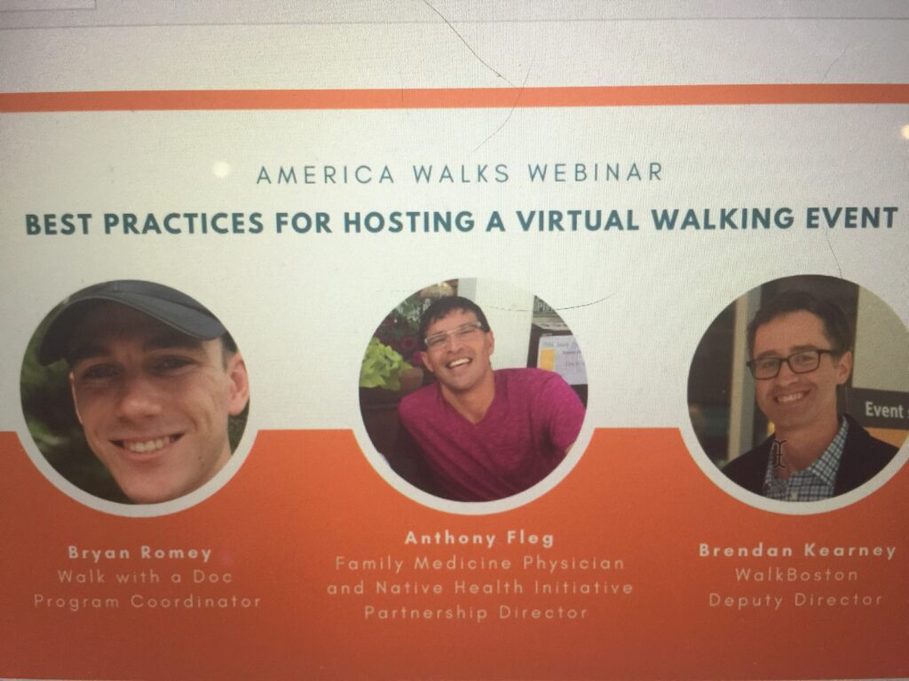 """Featured image for """"America Walks: How Do You Host a """"Virtual"""" Walking Event?"""""""