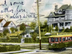 """Featured image for """"June 1908: A Vancouver Postcard & the Davie Streetcar"""""""