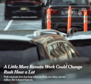 """Featured image for """"The Benefits of a Changing Rush Hour – Who, What and How"""""""