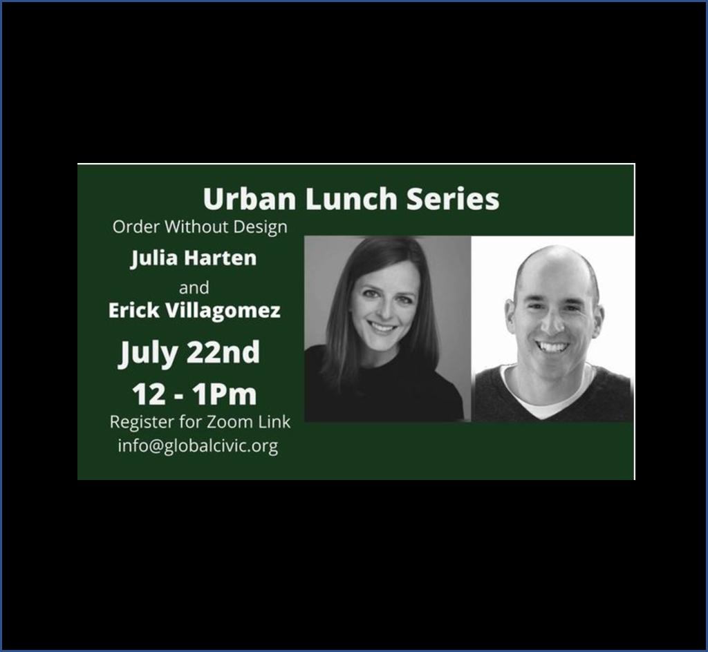 "Featured image for ""Urban Lunch – Julia HartenandErick Villagomez – July 21"""