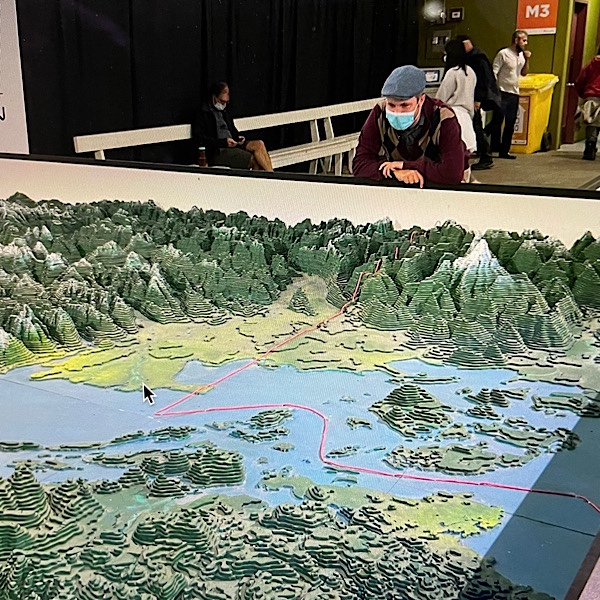 """Featured image for """"George Challenger & World's Largest Map Making a Welcome Comeback"""""""