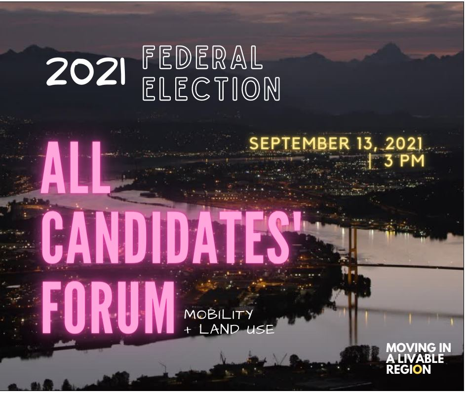 """Featured image for """"MLR Forum: Federal All-Candidates on Mobility and Land Use"""""""