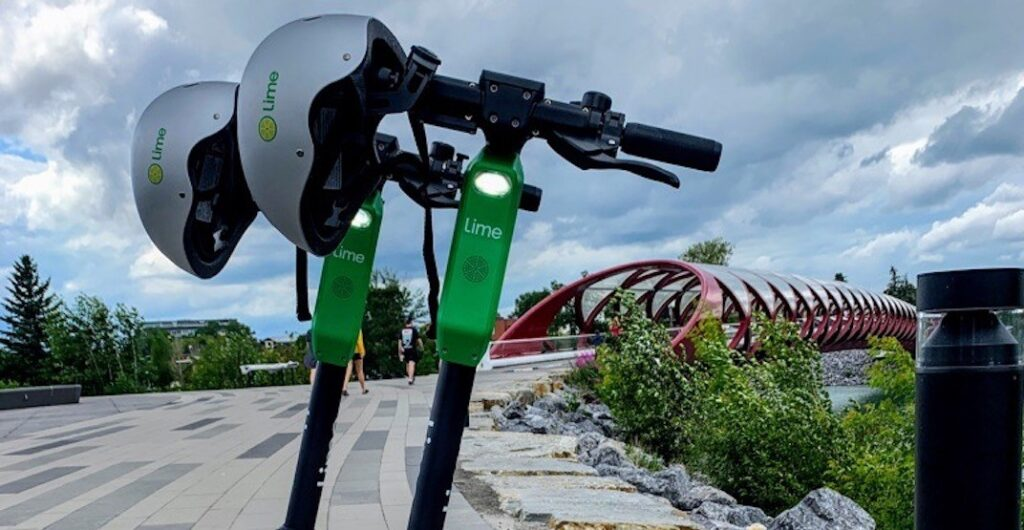 """Featured image for """"Report from Calgary: E-scooters, Helmets and Accidents"""""""
